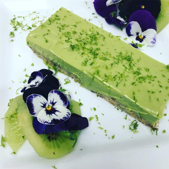 Lime avocado coconut matcha torte collegeofnaturopathicmedicine It was a pleasurehellip